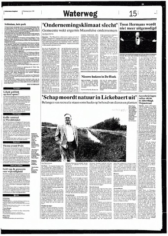 Rotterdamsch Nieuwsblad / Schiedamsche Courant / Rotterdams Dagblad / Waterweg / Algemeen Dagblad 1993-06-02