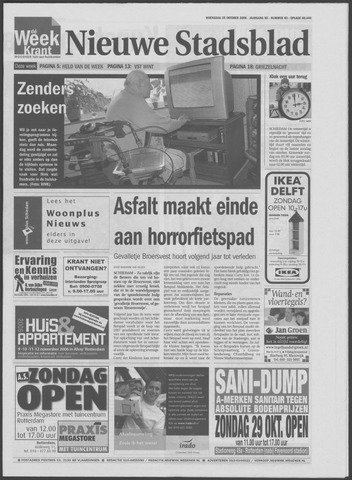 Het Nieuwe Stadsblad 2006-10-25