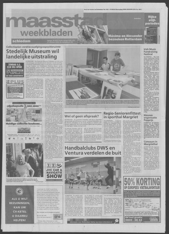 Maaspost / Maasstad / Maasstad Pers 2001-10-17