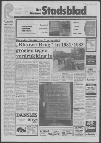 Het Nieuwe Stadsblad 1981-08-28