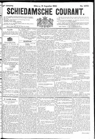 Schiedamsche Courant 1908-08-18