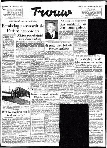 Trouw / De Rotterdammer 1955-02-28