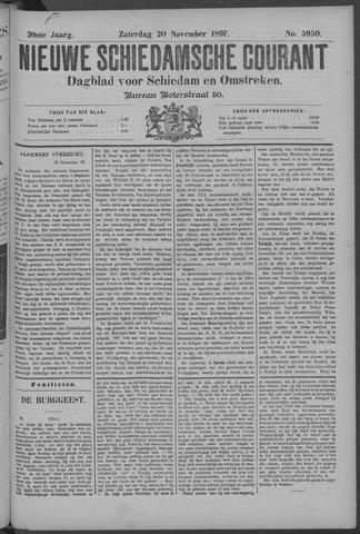 Nieuwe Schiedamsche Courant 1897-11-20