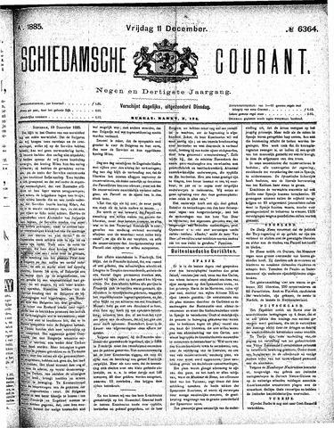 Schiedamsche Courant 1885-12-11