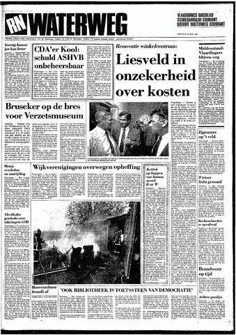 Rotterdamsch Nieuwsblad / Schiedamsche Courant / Rotterdams Dagblad / Waterweg / Algemeen Dagblad 1987-05-26