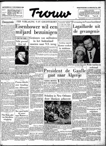 Trouw / De Rotterdammer 1960-11-17