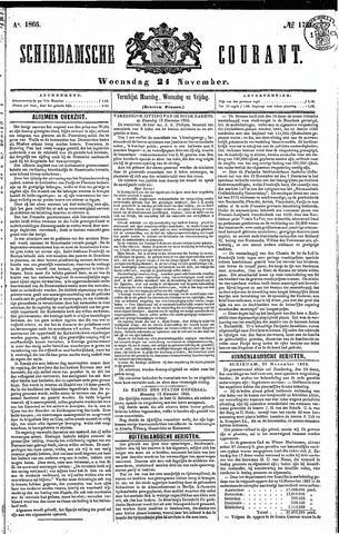 Schiedamsche Courant 1866-11-21