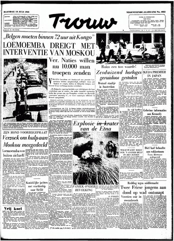 Trouw / De Rotterdammer 1960-07-18