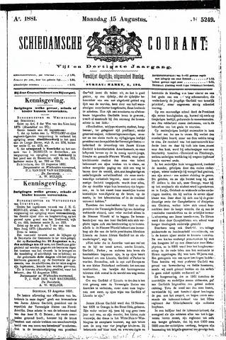 Schiedamsche Courant 1881-08-15