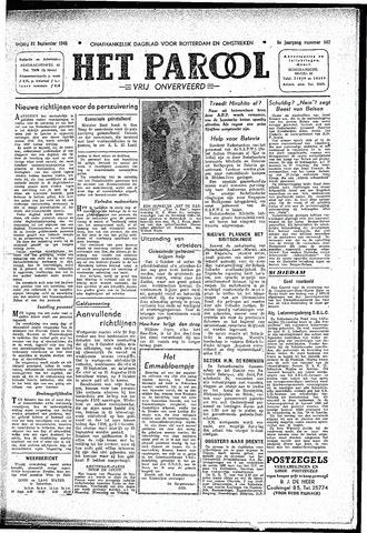 Rotterdamsch Parool / De Schiedammer 1945-09-21