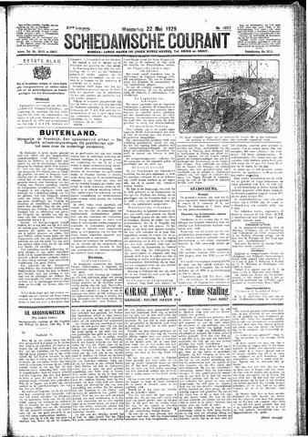 Schiedamsche Courant 1929-05-22