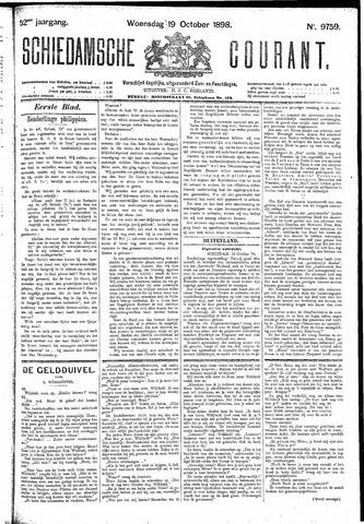 Schiedamsche Courant 1898-10-19