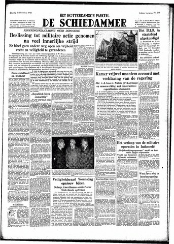 Rotterdamsch Parool / De Schiedammer 1948-12-21
