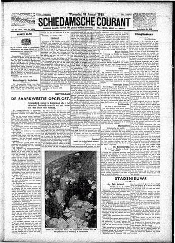 Schiedamsche Courant 1935-01-16