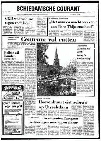 Rotterdamsch Nieuwsblad / Schiedamsche Courant / Rotterdams Dagblad / Waterweg / Algemeen Dagblad 1979-06-01