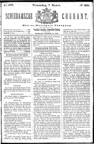 Schiedamsche Courant 1877-03-07