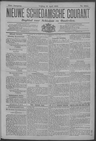 Nieuwe Schiedamsche Courant 1909-04-16