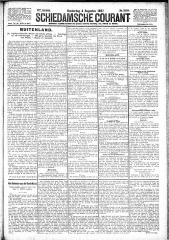 Schiedamsche Courant 1927-08-04