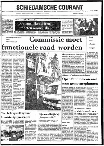 Rotterdamsch Nieuwsblad / Schiedamsche Courant / Rotterdams Dagblad / Waterweg / Algemeen Dagblad 1979-11-26