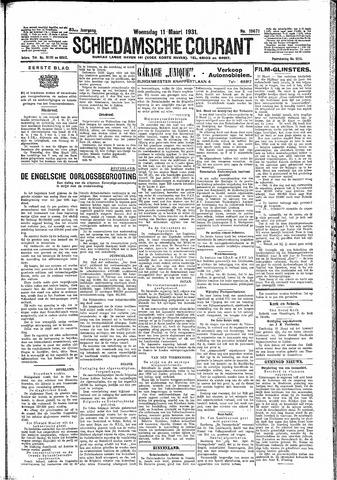 Schiedamsche Courant 1931-03-11