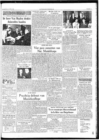 Rotterdamsch Nieuwsblad / Schiedamsche Courant / Rotterdams Dagblad / Waterweg / Algemeen Dagblad 1959-04-20