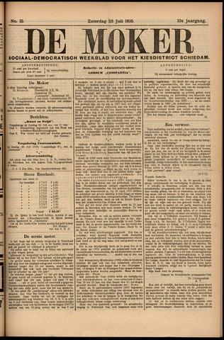 De Moker 1910-07-23