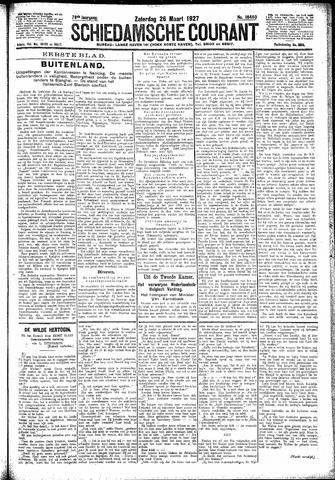 Schiedamsche Courant 1927-03-26