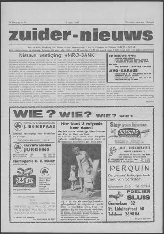 Zuider Nieuws 1968-09-12