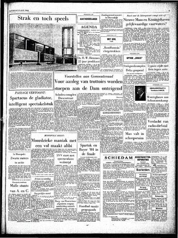 Rotterdamsch Parool / De Schiedammer 1962-08-25