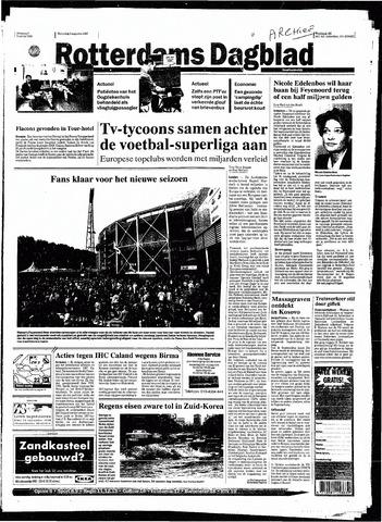 Rotterdamsch Nieuwsblad / Schiedamsche Courant / Rotterdams Dagblad / Waterweg / Algemeen Dagblad 1998-08-05