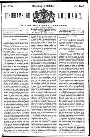Schiedamsche Courant 1879-10-06