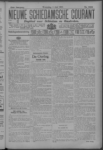 Nieuwe Schiedamsche Courant 1918-06-05