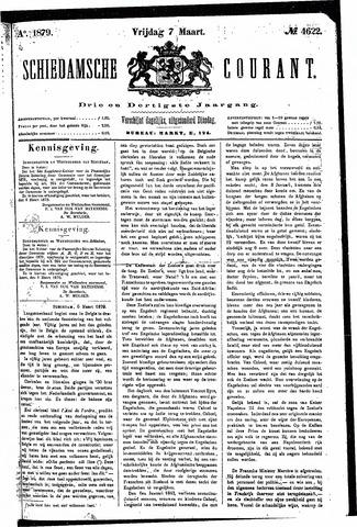Schiedamsche Courant 1879-03-07