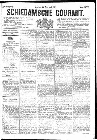Schiedamsche Courant 1910-02-13