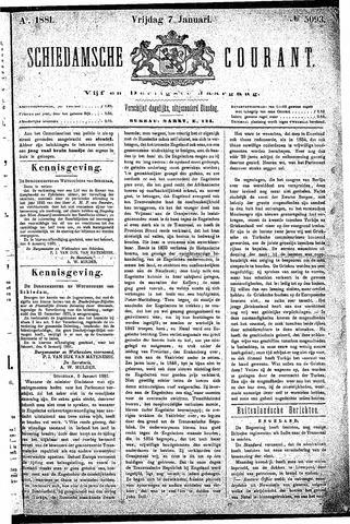 Schiedamsche Courant 1881-01-07