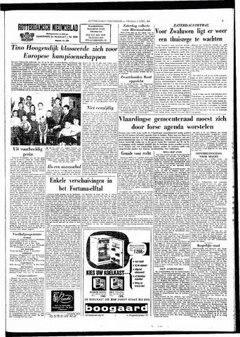 Rotterdamsch Nieuwsblad / Schiedamsche Courant / Rotterdams Dagblad / Waterweg / Algemeen Dagblad 1964-04-03