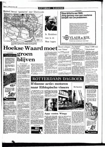 Rotterdamsch Parool / De Schiedammer 1968-10-18