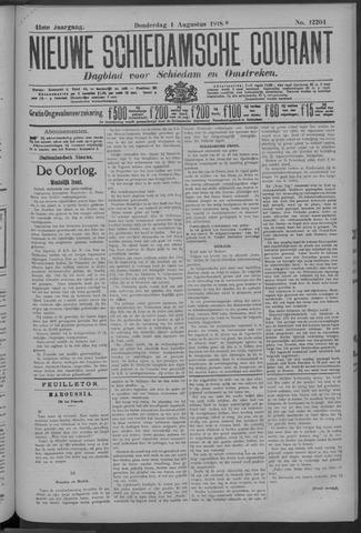 Nieuwe Schiedamsche Courant 1918-08-01