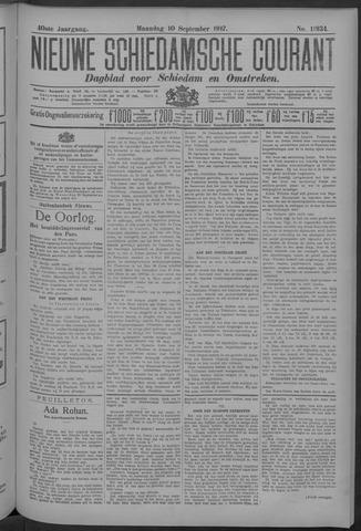 Nieuwe Schiedamsche Courant 1917-09-10