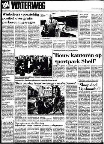 Rotterdamsch Nieuwsblad / Schiedamsche Courant / Rotterdams Dagblad / Waterweg / Algemeen Dagblad 1991-03-14