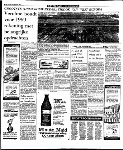 Rotterdamsch Parool / De Schiedammer 1968-12-20
