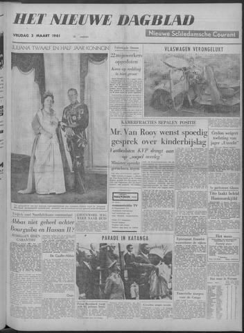 Nieuwe Schiedamsche Courant 1961-03-03