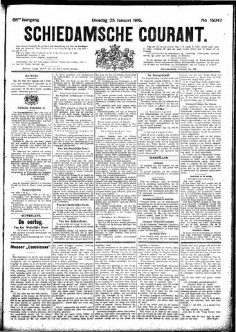 Schiedamsche Courant 1916-01-25