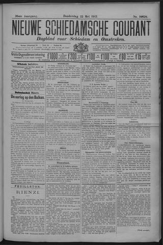 Nieuwe Schiedamsche Courant 1913-05-22