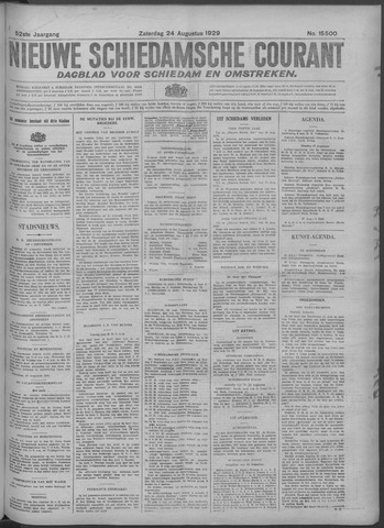 Nieuwe Schiedamsche Courant 1929-08-24