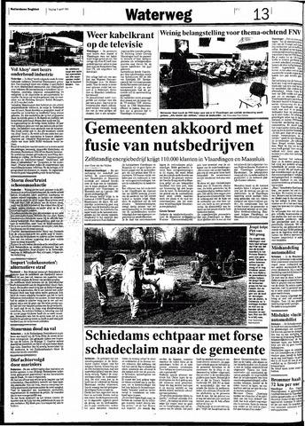 Rotterdamsch Nieuwsblad / Schiedamsche Courant / Rotterdams Dagblad / Waterweg / Algemeen Dagblad 1991-04-05
