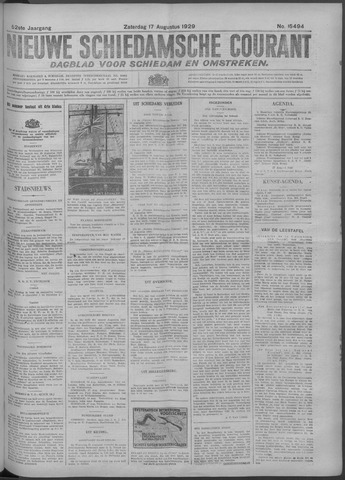 Nieuwe Schiedamsche Courant 1929-08-17