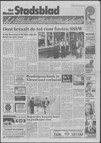 Het Nieuwe Stadsblad 1985-04-19