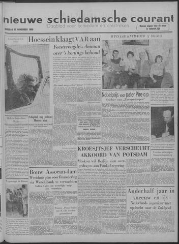 Nieuwe Schiedamsche Courant 1958-11-11