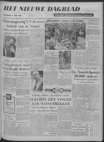 Nieuwe Schiedamsche Courant 1962-05-07